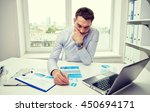 business  people  paperwork and ... | Shutterstock . vector #450694171