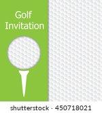 golf tournament invitation...   Shutterstock .eps vector #450718021