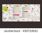 vector cocktail menu design.... | Shutterstock .eps vector #450723031