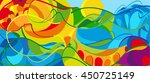 rio. 2016 abstract colorful... | Shutterstock .eps vector #450725149