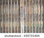 Old Metal Door.