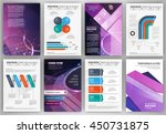abstract vector backgrounds and ... | Shutterstock .eps vector #450731875