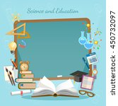 education background... | Shutterstock .eps vector #450732097