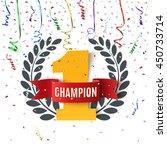 champion  winner   number one...   Shutterstock .eps vector #450733714