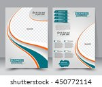 abstract flyer design... | Shutterstock .eps vector #450772114