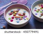 Yoghurt With Smarties