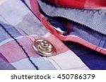 modern snap fastener button for ...   Shutterstock . vector #450786379