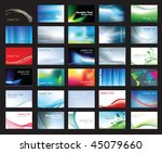 illustration of large set of... | Shutterstock .eps vector #45079660