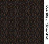 geometric cube seamless pattern.... | Shutterstock .eps vector #450805921