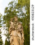 Statue Of St. Joseph With The...
