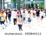 blurred abstract background of... | Shutterstock . vector #450844111