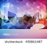 abstract concept vector... | Shutterstock .eps vector #450861487