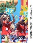 new york city   july 4 2016 ... | Shutterstock . vector #450867871