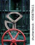 Steam Engine Wheels. An Old...