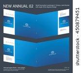 new annual 02 brochure... | Shutterstock .eps vector #450879451