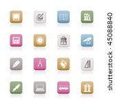 school and education icons  ... | Shutterstock .eps vector #45088840