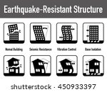 earthquake resistant structure... | Shutterstock .eps vector #450933397