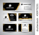 banners set for business modern ... | Shutterstock .eps vector #450973231