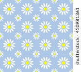 abstract summer camomile... | Shutterstock .eps vector #450981361
