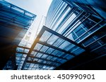 detail of modern building | Shutterstock . vector #450990901