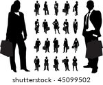 business concept | Shutterstock .eps vector #45099502