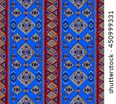 traditional tribal pattern in... | Shutterstock .eps vector #450999331