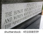 Dedication Monument For Armed...