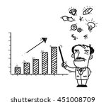 business presentations | Shutterstock .eps vector #451008709