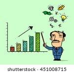 business presentations | Shutterstock .eps vector #451008715