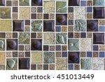 Colorful Mosaic Tiles Texture...