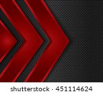 vector of abstract metallic... | Shutterstock .eps vector #451114624