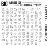 business icons. start up and... | Shutterstock .eps vector #451133959