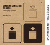 stacking limitation by mass... | Shutterstock .eps vector #451136689