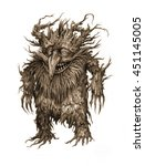 fairy tale characters  trolls ...   Shutterstock . vector #451145005