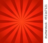 red rays background | Shutterstock .eps vector #451167121