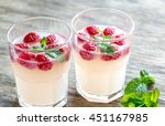 sparkling raspberry  ...   Shutterstock . vector #451167985