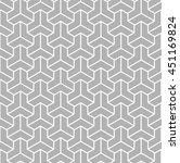 vector seamless pattern. modern ... | Shutterstock .eps vector #451169824