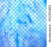 sea watercolor texture...   Shutterstock . vector #451201801