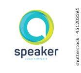 communication logo   Shutterstock .eps vector #451203265