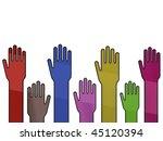 hands | Shutterstock . vector #45120394