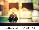 restaurant service bell vintage ... | Shutterstock . vector #451208161