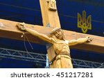 Crucifixion Of Ukraine.burned...