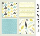 boho seamless texture. ethnic...   Shutterstock .eps vector #451219609