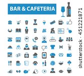bar  cafe  pub icons | Shutterstock .eps vector #451221871