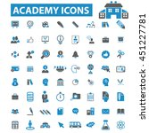 academy icons | Shutterstock .eps vector #451227781