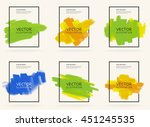 abstract stylish background... | Shutterstock .eps vector #451245535