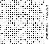 seamless circle pattern | Shutterstock .eps vector #451273075