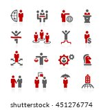business success icons   Shutterstock .eps vector #451276774