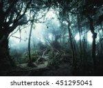 surreal colors of fantasy... | Shutterstock . vector #451295041