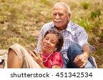old people  senior couple ...   Shutterstock . vector #451342534